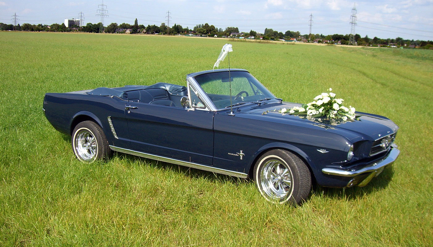Hochzeits Ford Mustang 002