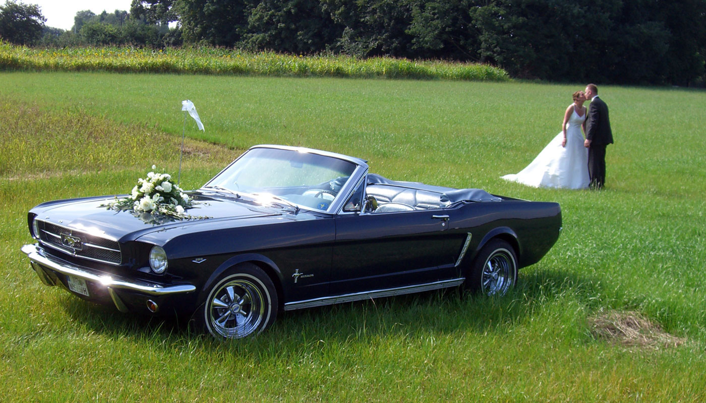 Hochzeits Ford Mustang 017